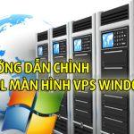 Hướng dẫn chỉnh Full màn hình VPS khi bị thu nhỏ khi dùng window 7